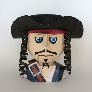 Papercraft Pirate